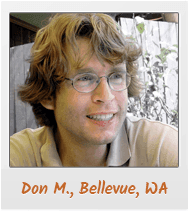 Don M., Belleview, WA